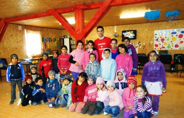 Adrian Ailincai - voluntar de profesie Fundatia Vodafone Romania
