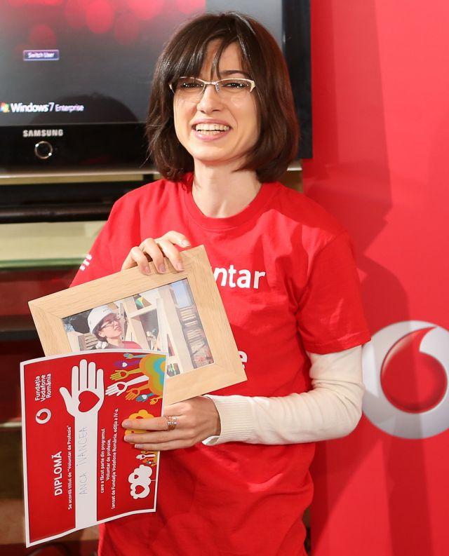 Anca Ivancea - Voluntar de Profesie 2014