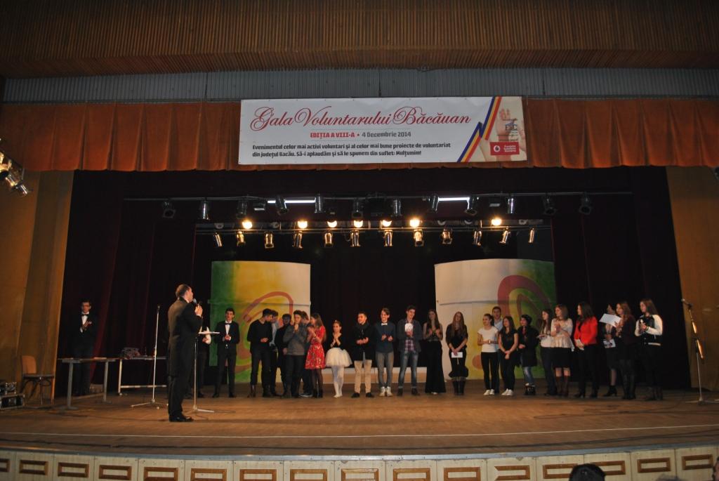 Gala Voluntarului Bacauan