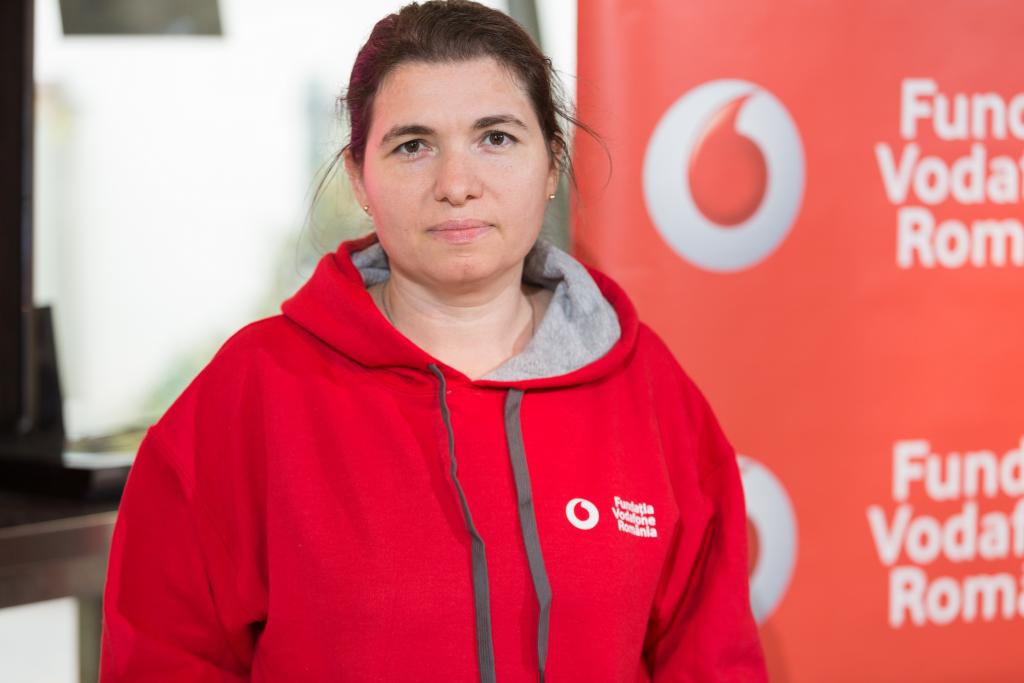 Voluntar de Profesie - Georgeta Neacsu - Fundatia Vodafone Romania