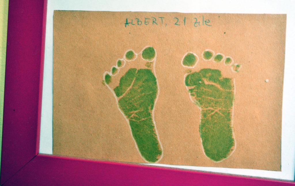 Amprenta picior - Casa Agar