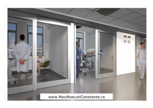 Secția de terapie intensivă nou-născuți proiect arhitectura